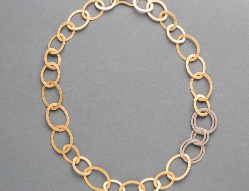 Collier, goud